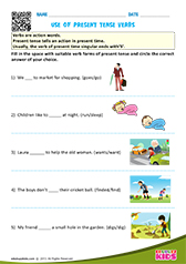Use of present tense verbs